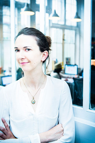 Claire - head of product design