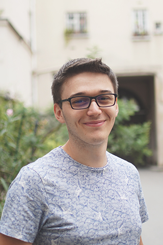 Kévin - developer & UX designer